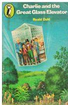 DAHL, Roald Charlie and the Great Glass Elevator (1st edition in Young Puffin Books)
